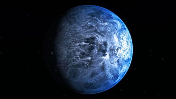 Ярко-голубая планета HD 189733b