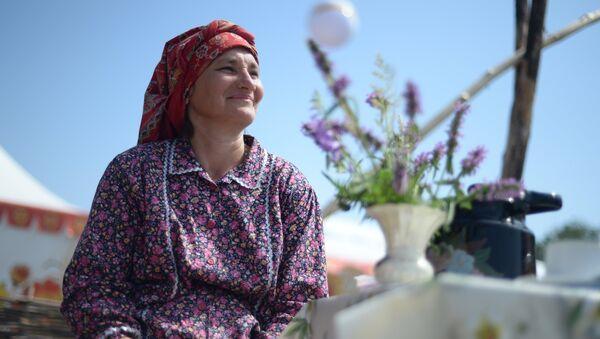 Национальный татарский праздник Сабантуй. Архивное фото