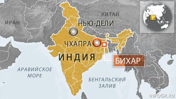 Город Чхапра, Индия