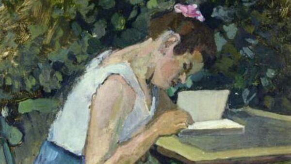 Читающая девочка. Анри Матисс