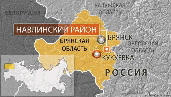 Деревня Кукуевка Навлинского района Брянской области