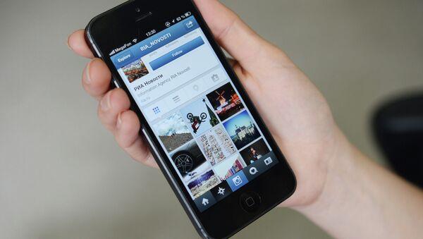 Страница РИА Новости в Instagram. Архивное фото