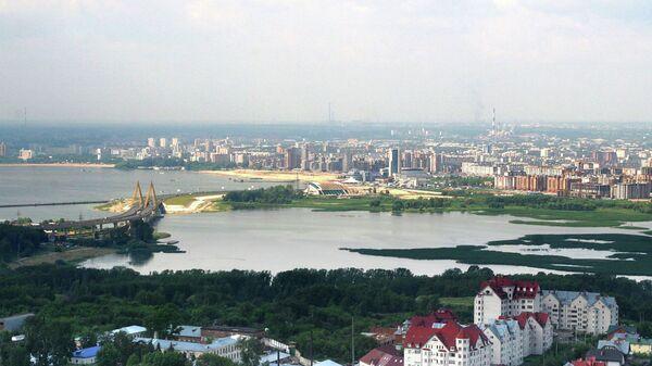 Виды города Казань. Архивное фото