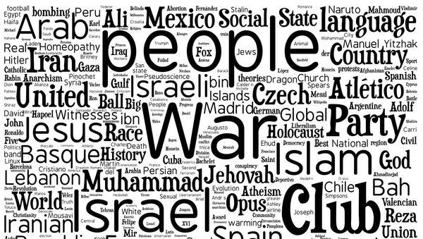1000 наиболее спорных статей в Википедии
