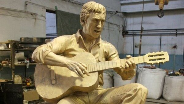 Проект памятника Высоцкому во Владивостоке