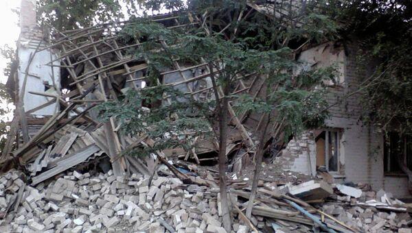 Жилой дом обрушился в Волгоградской области