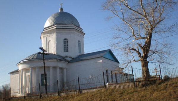 Православный храм в селе Державино Бузулукского района Оренбургской области Бузулукской епархии РПЦ МП