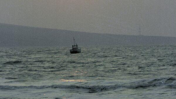 Судно в Азовском море. Архивное фото