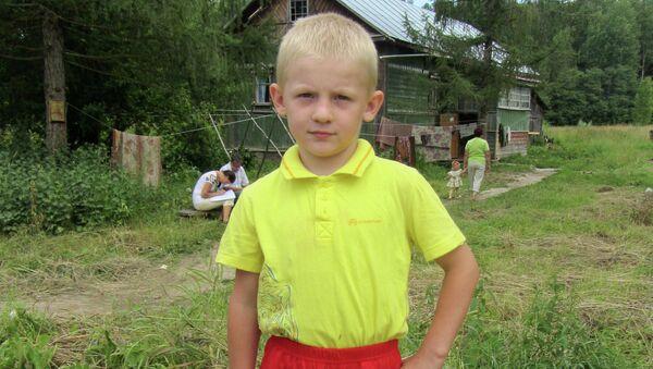 Шестилетний Алексей Бахирев, спасший семью от огня в Костромской области