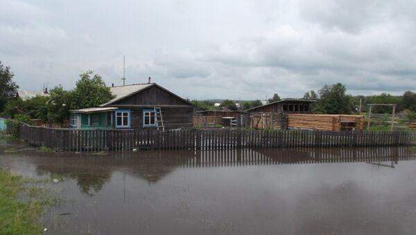Паводок в Зейском районе Амурской области