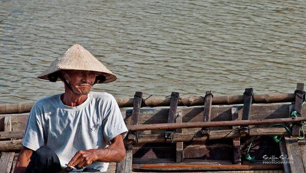 Житель вьетнамского города. Архивное фото
