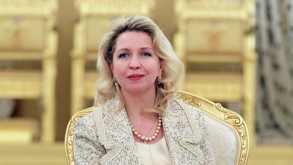 Светлана Медведева в Кремлевском Дворце. Архив