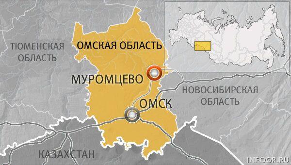 Автобус с 42 пассажирами опрокинулся в Омской области