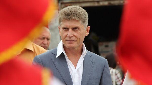 Губернатор Приамурья Олег Кожемяко. Архивное фото