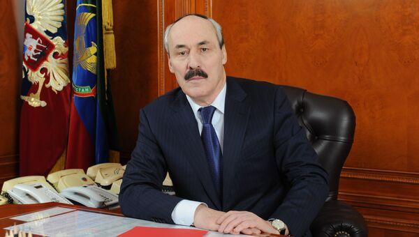 Врио президента Республики Дагестан Рамазан Абдулатипов