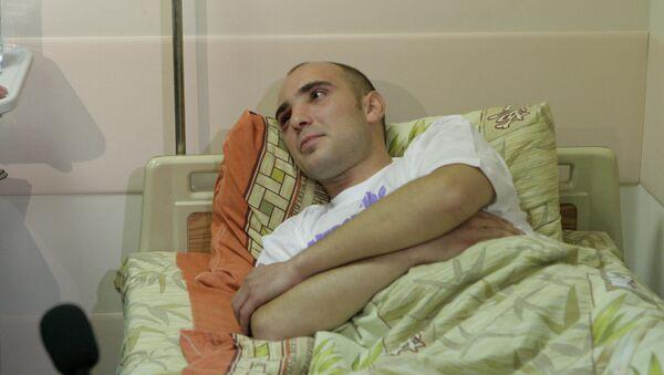 Оперуполномоченный Антон Кудряшов в больнице