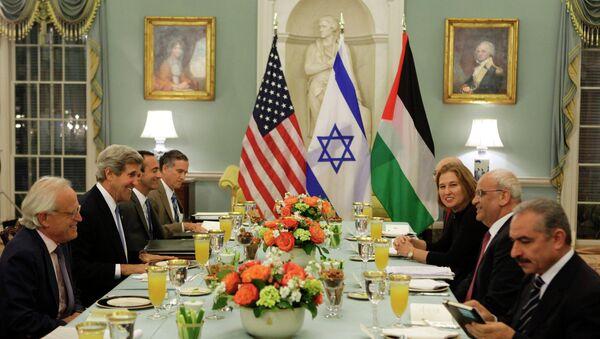 Мирные переговоры Израиля и Палестины возобновились в США