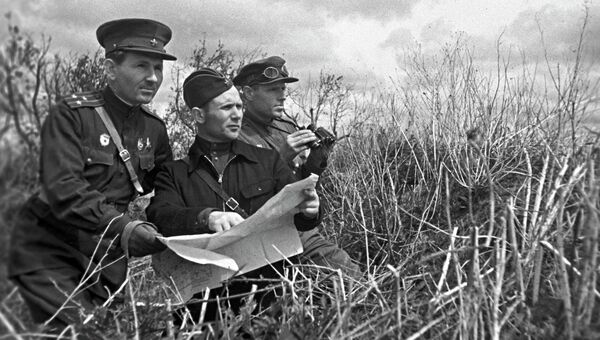 Воины Великой Отечественной войны 1941-1945 годов, архивное фото
