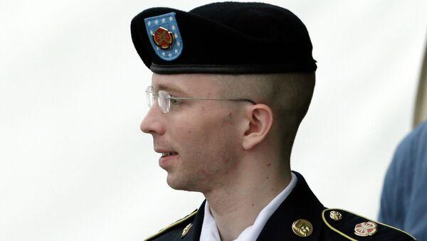 Военнослужащий Брэдли Мэннинг, архивное фото