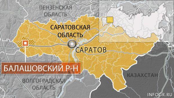 Балашовский район Саратовской области
