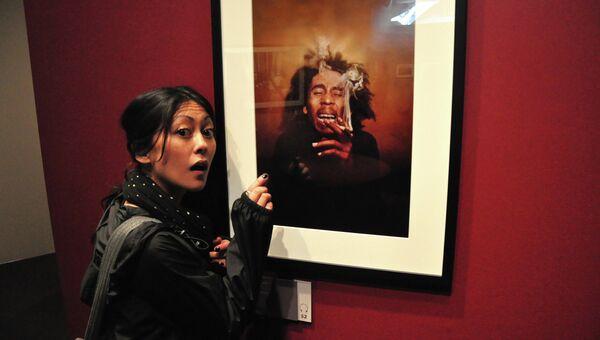 Картина с изображением Боба Марли