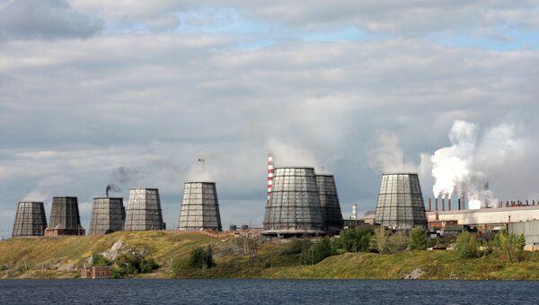 Богословский алюминиевый завод в Краснотурьинске, архивное фото