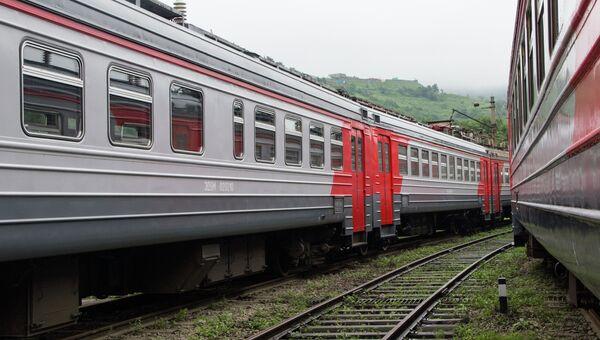Поезда. Архивное фото