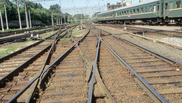 Железнодорожные пути. Архивное фото