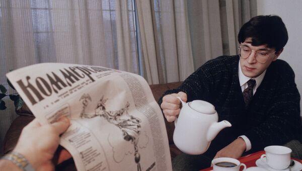 Главный редактор газеты Коммерсантъ В.Е. Яковлев