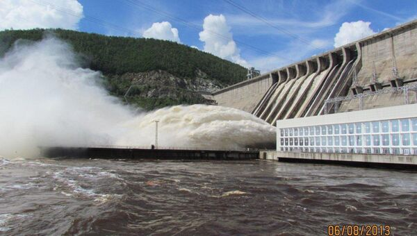 Филиал ОАО РусГидро Зейская ГЭС. Архивное фото