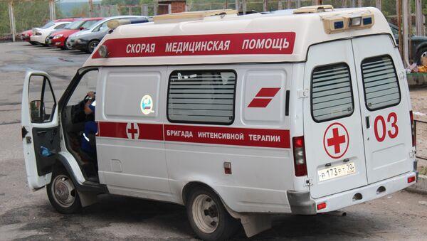 Скорая помощь в Томске, архивное фото