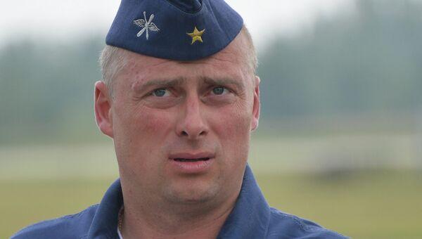 Член пилотажной группы Русские витязи полковник Андрей Алексеев