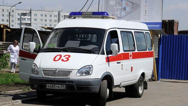 Машина скорой помощи в Красноярске