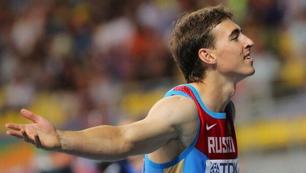 Российский спортсмен Сергей Шубенков, архивное фото