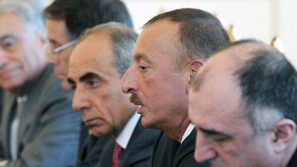 Президент Азербайджана И.Алиев