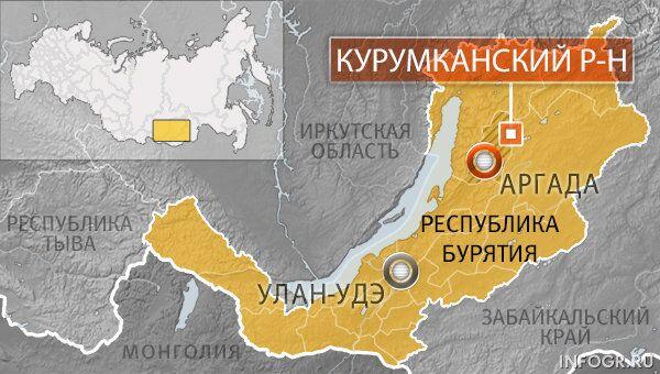 Село Аргада Курумканского района