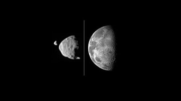 Планетологи выяснили, что раньше у Марса были кольца
