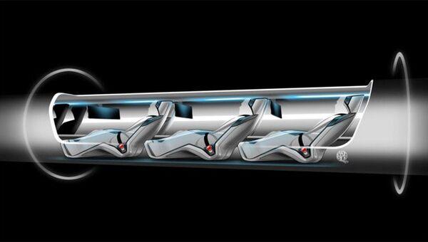 Проект сверхскоростного поезда Hyperloop на основе томского прототипа