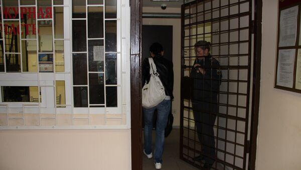 Петербургский центр содержания мигрантов. Архивное фото