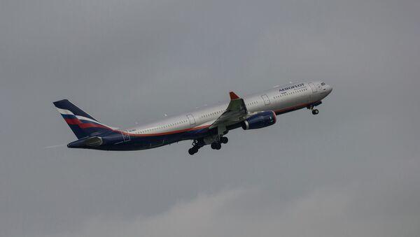 Самолет Аэрофлота, архивное фото