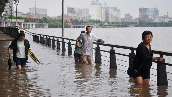 Наводнение на севере Китая
