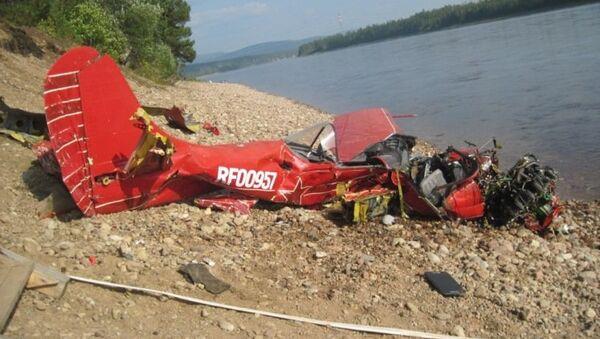 Як-52 разбился в Якутии