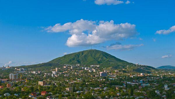 Вид на город Пятигорск