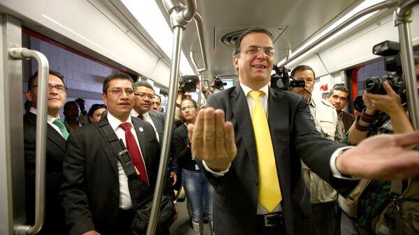 Министр иностранных дел Мексики Марсело Эбрард