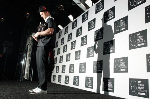 Американский певец Джастин Тимберлейк на MTV Video Music Awards
