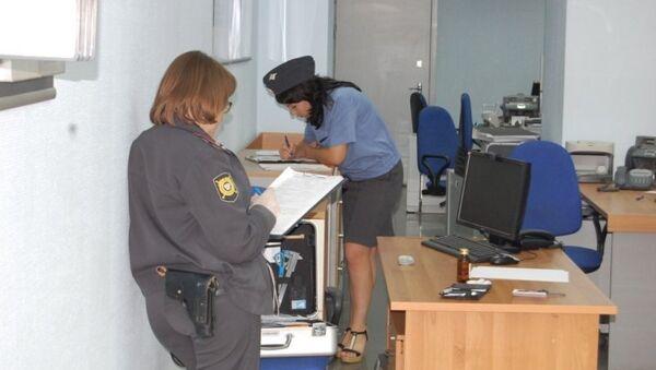 Полиция работает на месте ограбления банка в Самаре