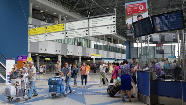 Международный аэропорт Владивостока. Архивное фото