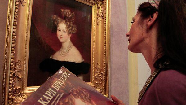Выставка десяти неизвестных ранее работ Карла Брюллова в Русском музее