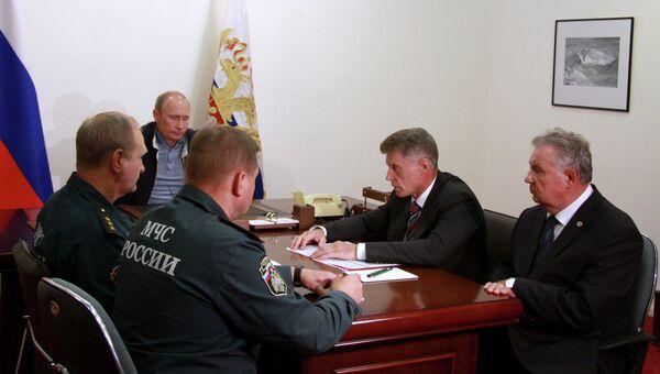 Путин в Амурской области
