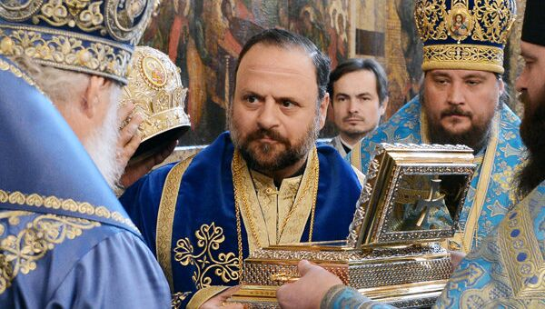 Представитель Антиохийской церкви в США Епископ Бруклинский Николай (Озон)